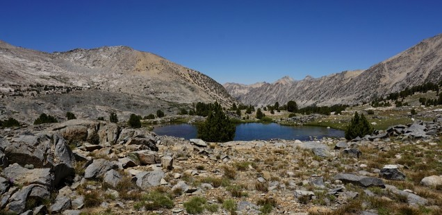A Day on the PCT in the High Sierra